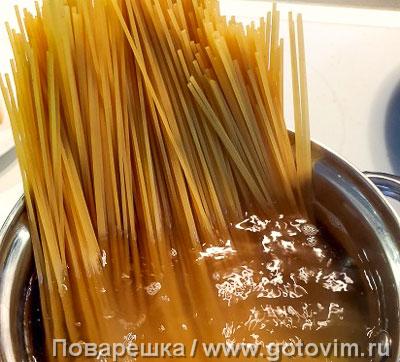 Спагетти под соусом аматричана, Шаг 05