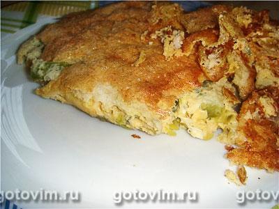 Суфле из кабачков. Фотография рецепта