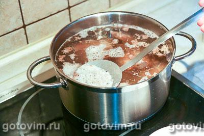 Суп из баранины с белой фасолью, Шаг 01