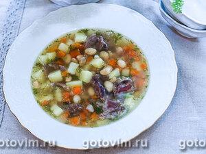 Суп из баранины с белой фасолью
