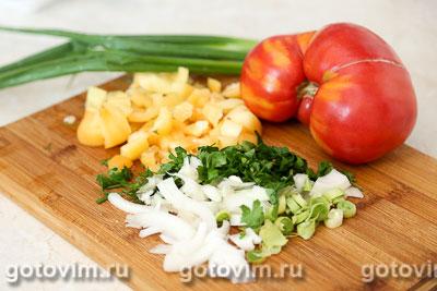 Суп с бараниной и нутом, Шаг 01