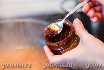 Суп с бараниной и нутом, Шаг 05
