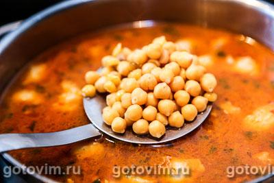 Суп с бараниной и нутом, Шаг 06