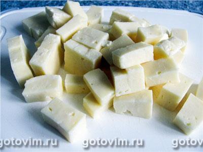 Суп с брынзой в мультиварке, Шаг 03