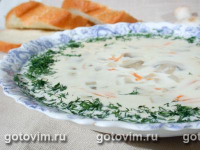 Грибной суп с сыром (пошаговый рецепт с фото) 68