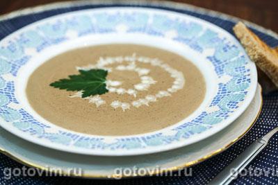 Сливочный суп из куриной печенки. Фото-рецепт