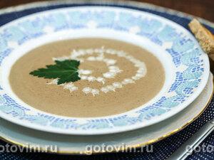 Сливочный суп из куриной печенки
