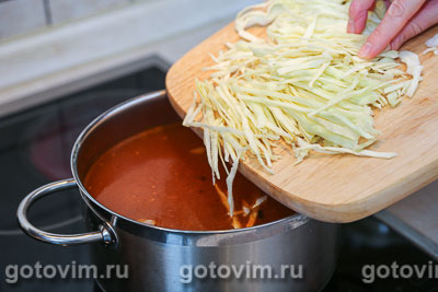Фасолевый суп с ребрышками, Шаг 05