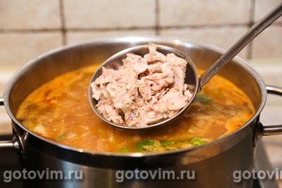 Фасолевый суп с ребрышками, Шаг 06