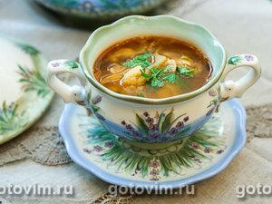Фасолевый суп с ребрышками