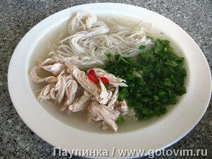 Вьетнамский суп Фо из курицы (Суп Фо га)