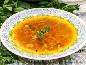 Гороховый суп с хрустящим беконом