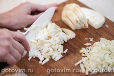 Гороховый суп на говяжьем бульоне с сельдереем, Шаг 01