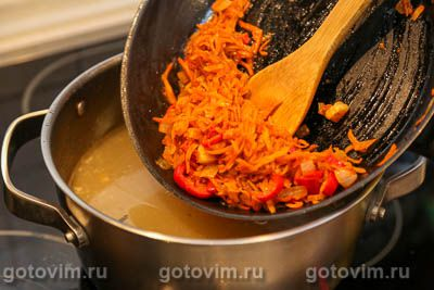 Суп из говядины с картофелем и чипетками, Шаг 06
