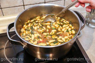 Суп из говядины с картофелем и чипетками, Шаг 09