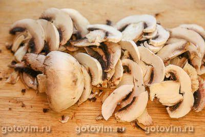 Суп из говядины с грибами и мучной «подбойкой», Шаг 02