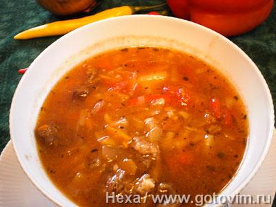 Фотография рецепта Суп-гуляш