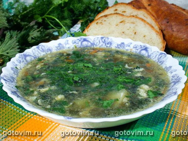рецепты супа с крапивой