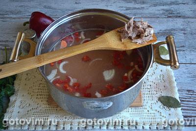 Суп с кроликом и овощами, Шаг 05