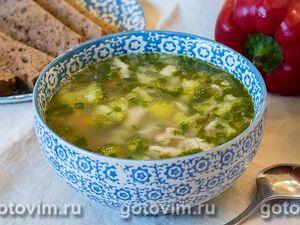 Кукурузный суп с белой рыбой и гребешками, пошаговый рецепт с фото