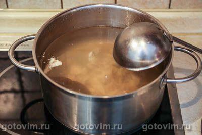 Куриный суп с мучной «подбойкой» (или жидким тестом), Шаг 01