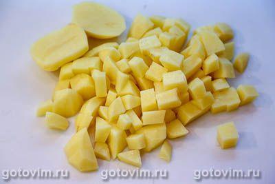 Куриный суп с мучной «подбойкой» (или жидким тестом), Шаг 02