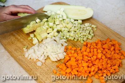 Суп из куриных желудочков с овощами, Шаг 03