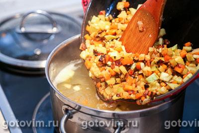 Суп из куриных желудочков с овощами, Шаг 05