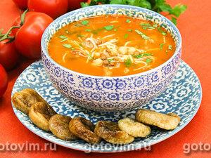 Чечевичный суп с маслинами – кулинарный рецепт