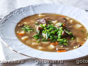 Суп из маслят
