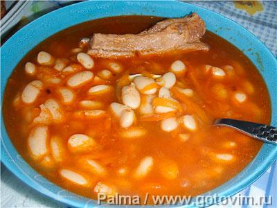 суп со свининой и макаронами рецепт с фото