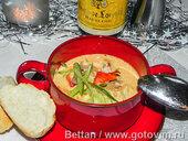 Сливочный суп из омаров