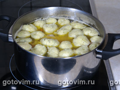 Куриный суп с клецками и сельдереем, Шаг 06