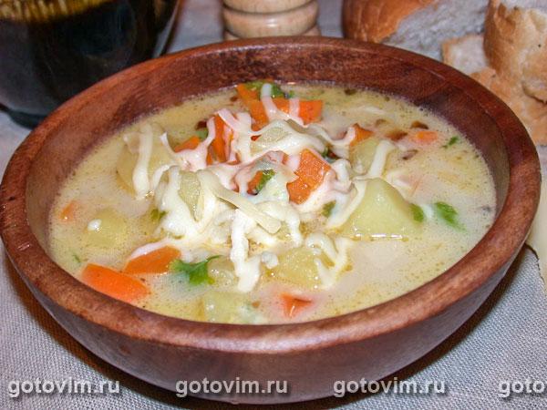 Сырный суп от Гриши