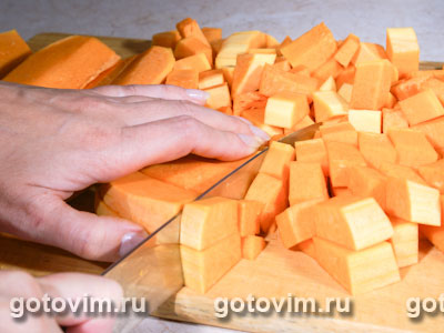 Тыквенный суп, Шаг 01