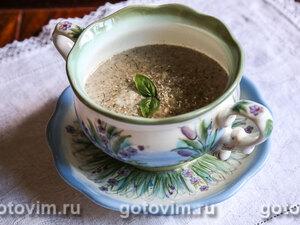 Сливочный суп-пюре из опят