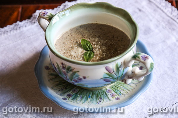 грибной суп пюре из замороженных опят рецепт
