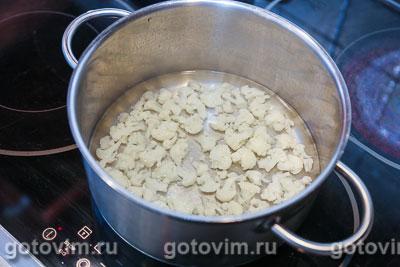 Суп-пюре из цветной капусты (велуте или  суп дюбарри), Шаг 02
