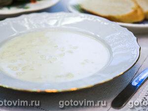 Суп-пюре из цветной капусты (велуте или  суп дюбарри)