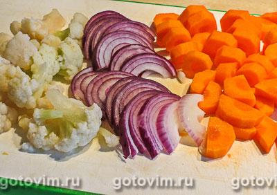 Суп-пюре с томатом и морковью на сливках, Шаг 02
