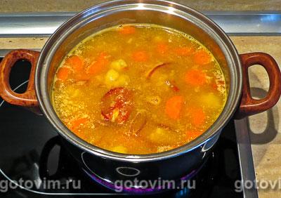 Суп-пюре с томатом и морковью на сливках, Шаг 06