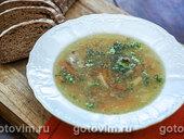 Суп из утки с красной чечевицей