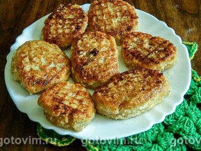 Фотография рецепта Сырники с дыней