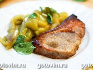 Свинина в маринаде с виски, запеченная в духовке