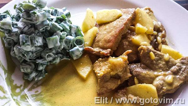 Свинина с карри рецепт