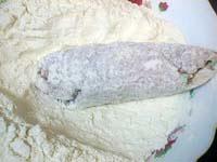 Фотографии рецепта Рулетики из свинины с зелёным луком и сыром, Шаг 05