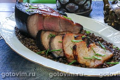 Мясо в духовке по-китайски (Honey Char Siu). Фотография рецепта