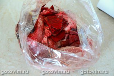 Свинина со свеклой и черносливом, Шаг 06
