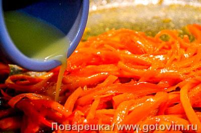 Свиная вырезка в соусе терияки с пряными овощами, Шаг 08