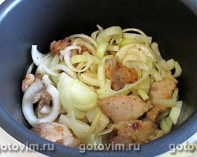 Свинина с яблочной подливкой в мультиварке, Шаг 04